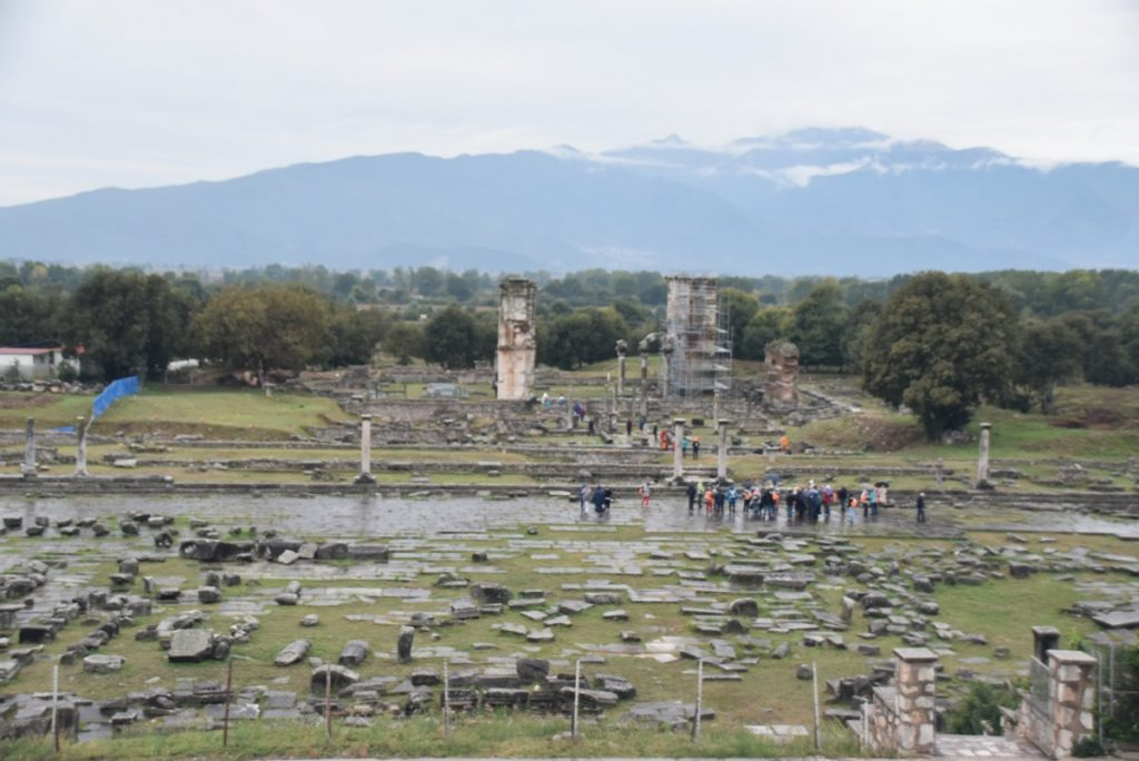 Philippi Oct 2019 Greece Tour with John DeLancey BIMT