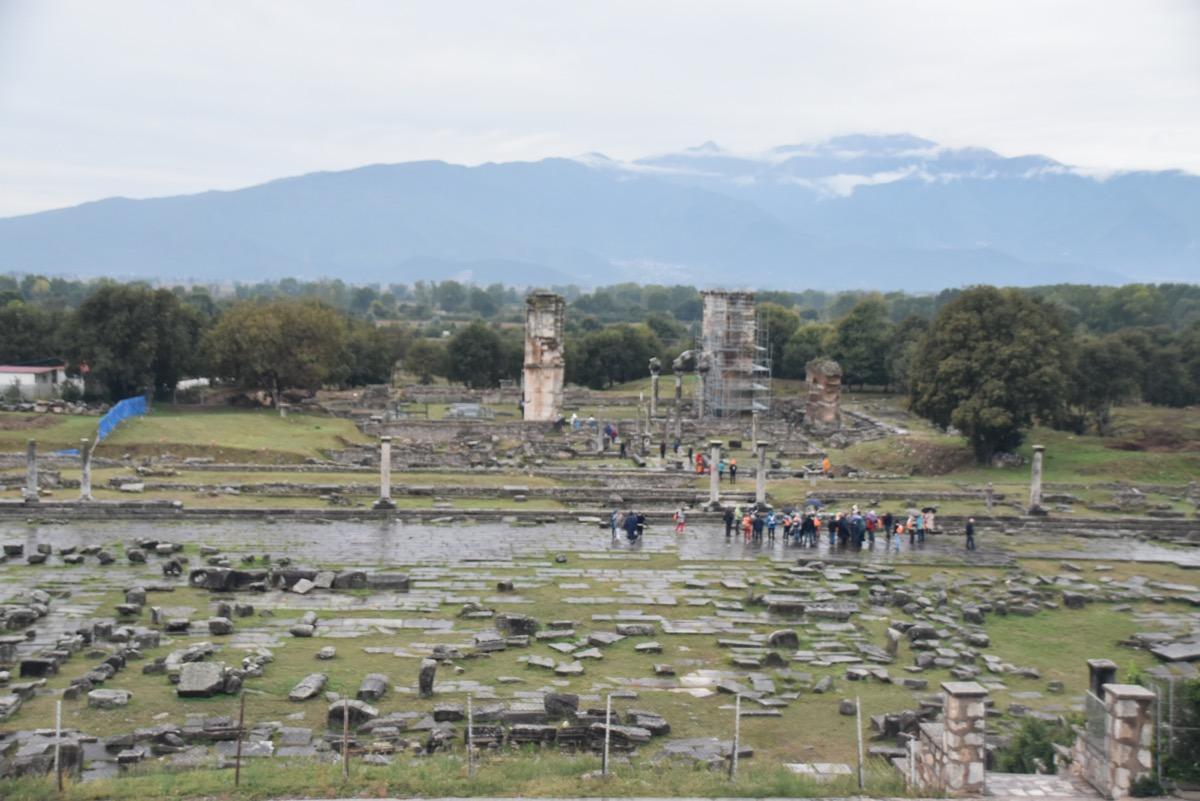 Philippi forum - agora