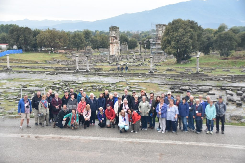 Philippi Oct 2019 Greece Tour with John DeLancey