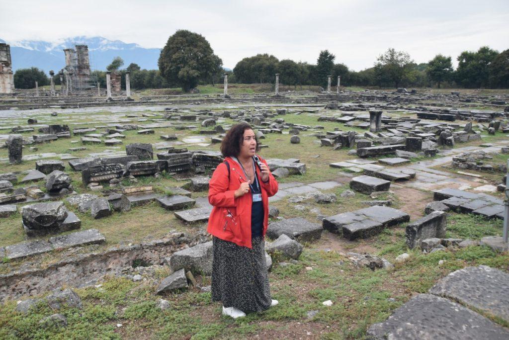 Philippi Oct 2019 Greece Tour with John DeLancey BIMT