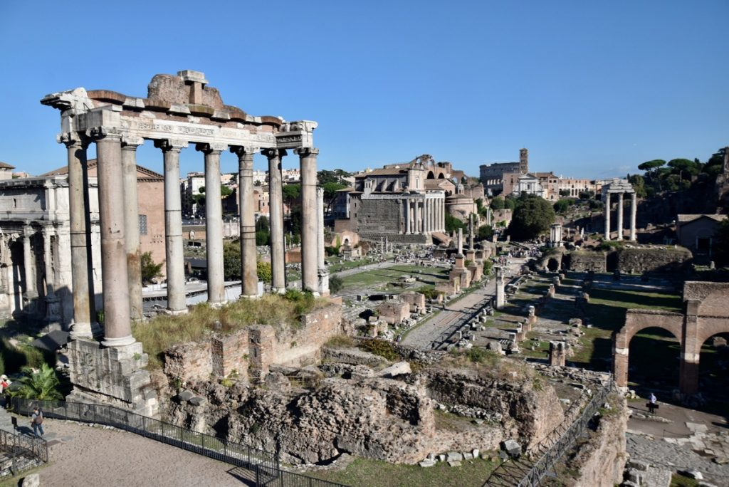 Roman Forum Rome Greece Tour 2019 with John DeLancey