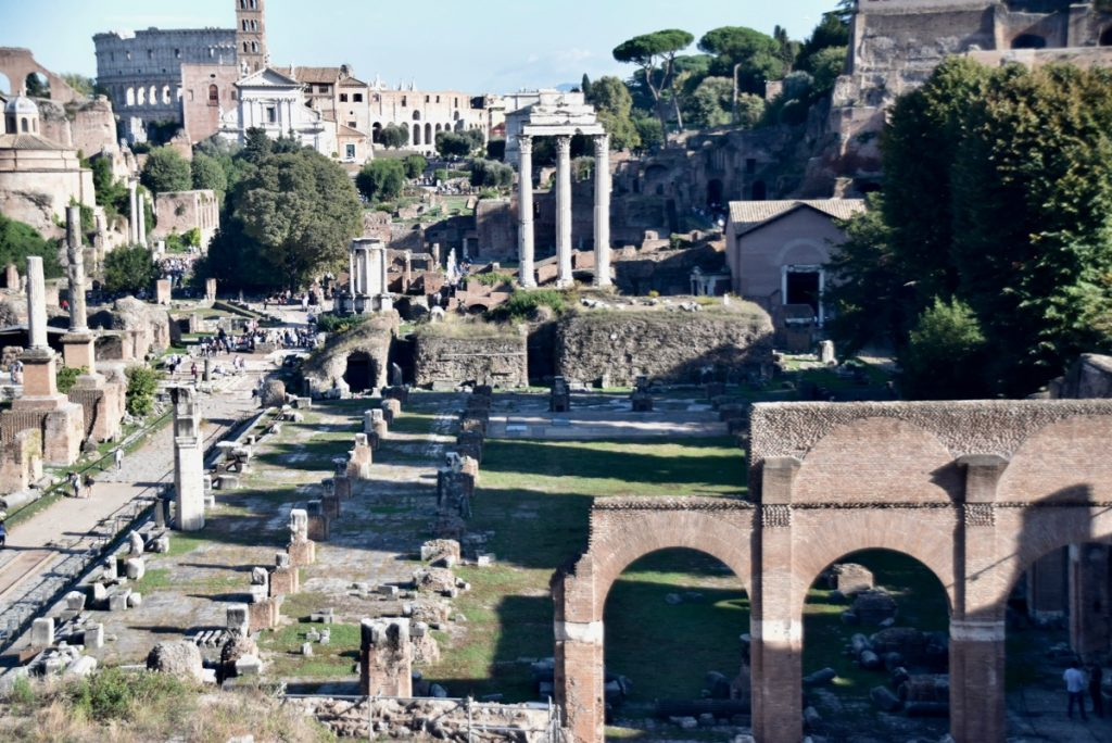 Basilica Julia Rome Greece Tour 2019 with John DeLancey