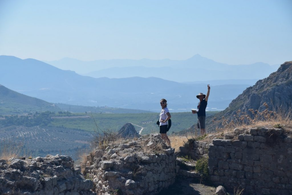 Acro Corinth Greece Tour 2019 with John DeLancey and BIMT