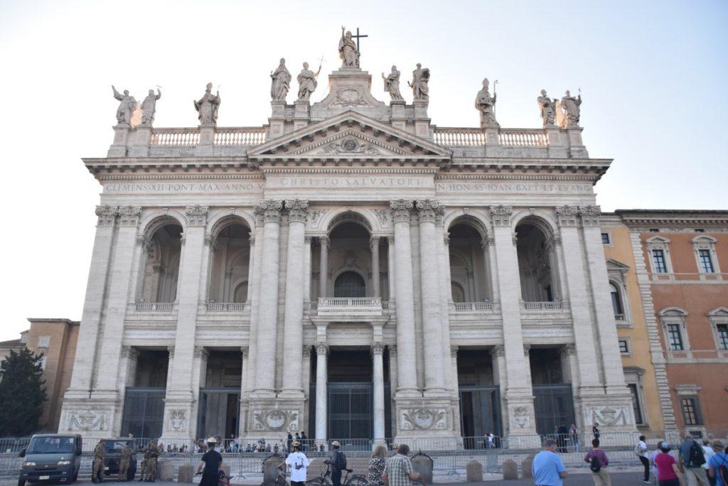 St. John's Lateran Rome Greece Tour 2019 with John DeLancey