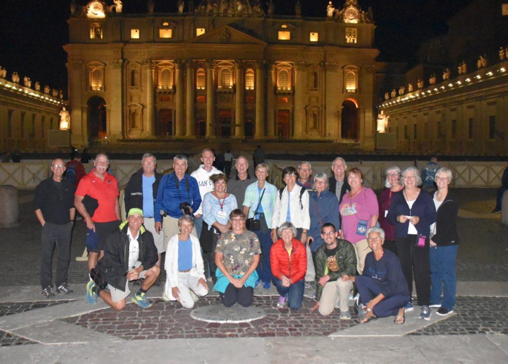 St. Peter's Square DeLancey Greece Tour 2019