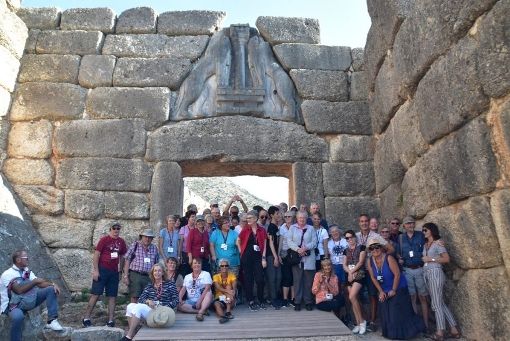 Mycenae Athens DeLancey Greece Tour 2019