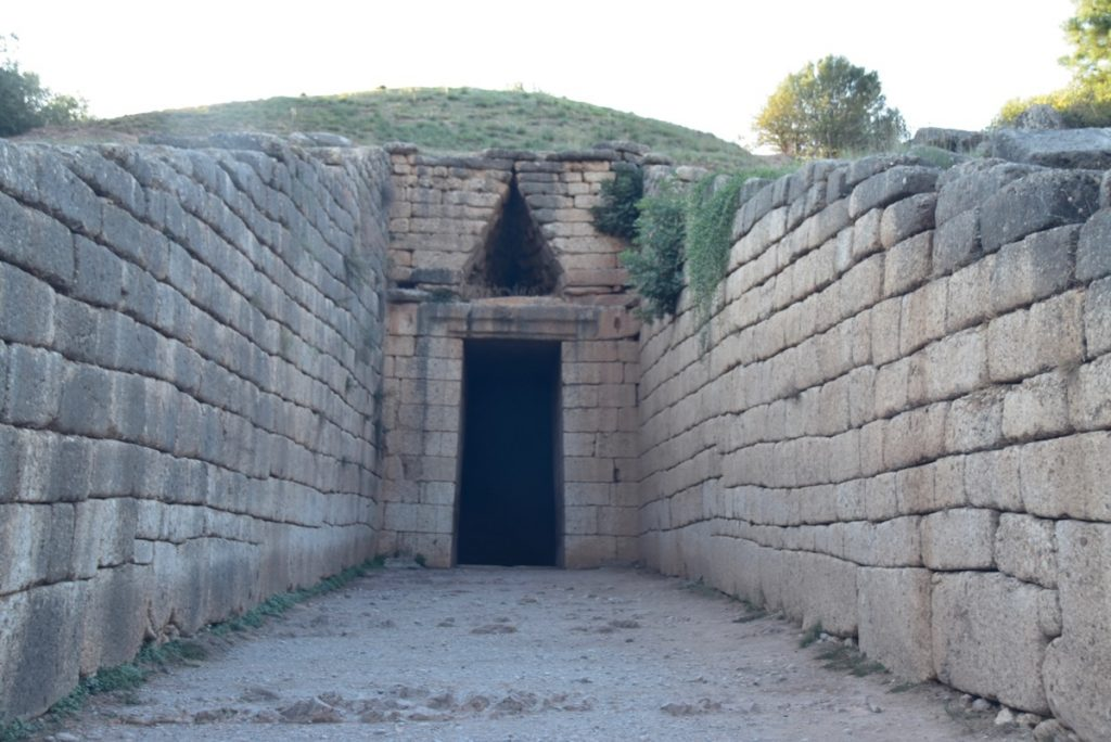 Mycenae Greece Tour 2019 with John DeLancey and BIMT