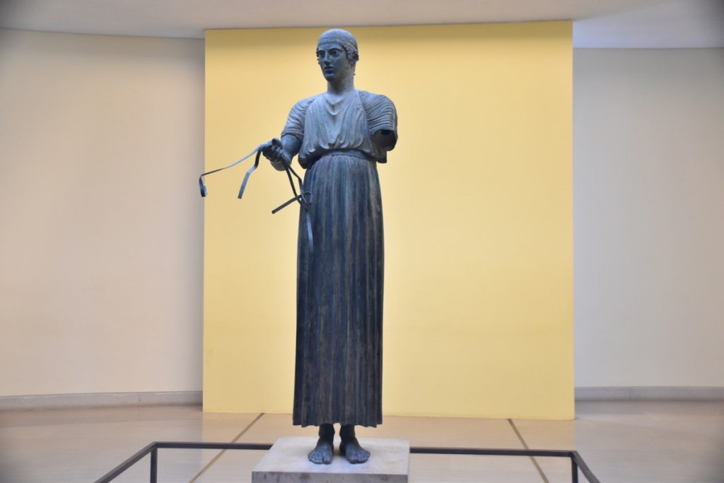 Delphi Charioteer Greece Tour 2019 with John DeLancey