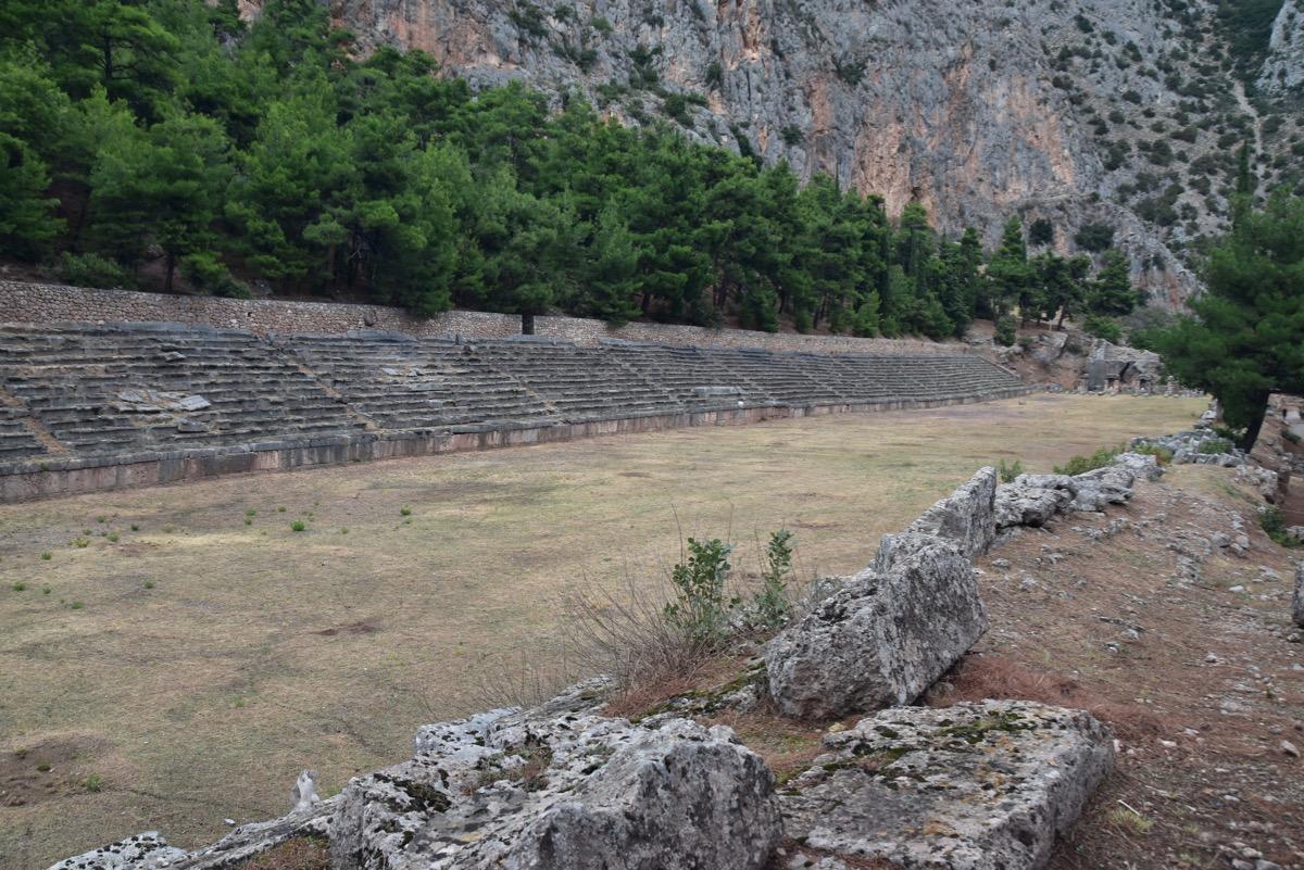 Delphi Stadium, Greece
