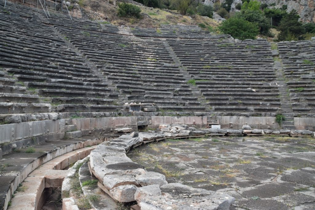 Delphi Greece Tour 2019 with John DeLancey