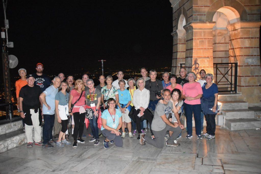 Mt. Lycabetus Athens DeLancey Greece Tour 2019