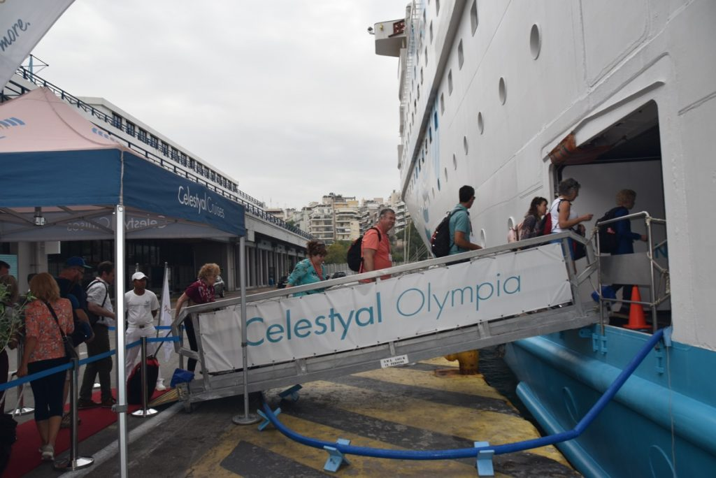 Greek cruise October 2019 Greece Tour with BIMT and John DeLancey