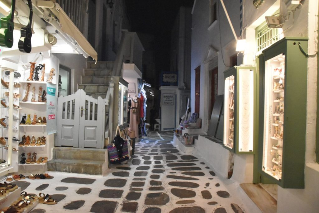 Mykonos October 2019 Greece Tour with BIMT and John DeLancey
