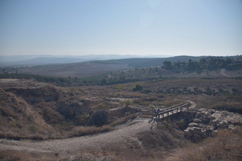 Tel Gezer Nov 2019 Israel Tour with John DeLancey