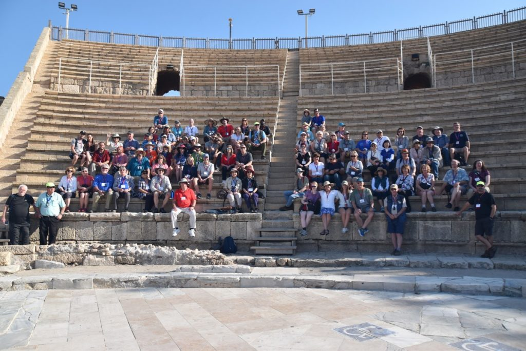 Caesarea Biblical Israel Tours with John Delancey