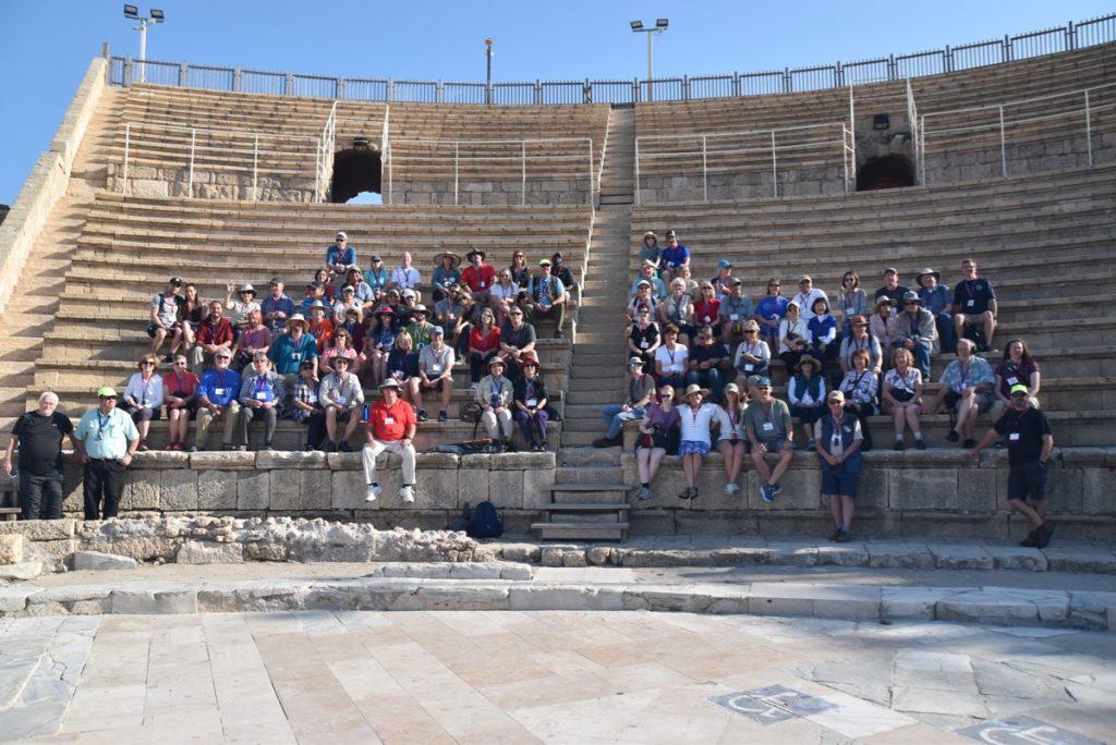 Caesarea Biblical Israel Tours with John Delancey