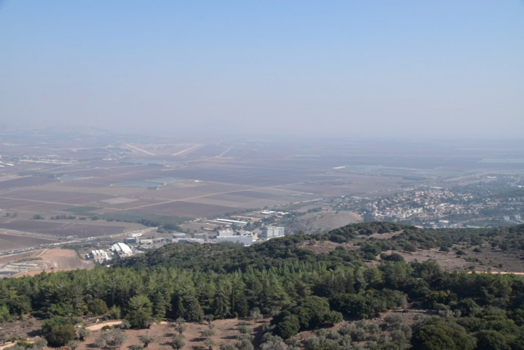 Jezreel Valley Nov 2019 Israel Tour Group, with John DeLancey