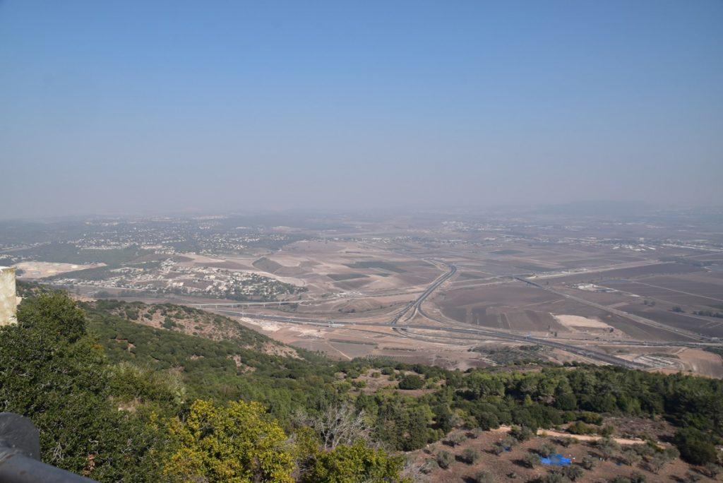Jezreel Valley Nov 2019 Israel Tour Group, with John DeLancey