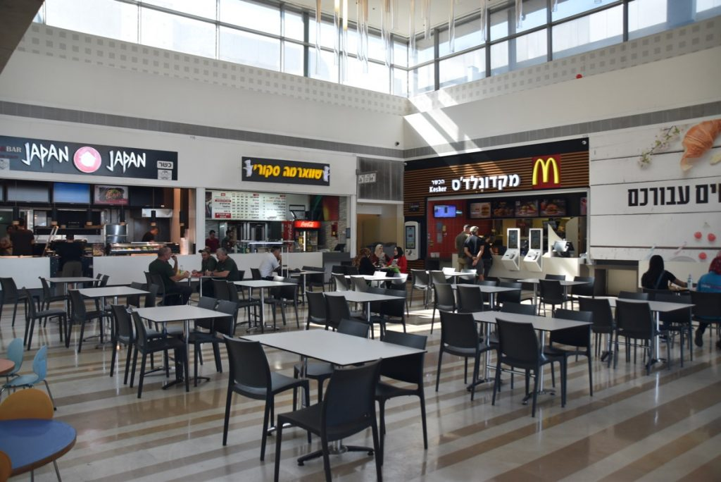 Beth Shemesh mall Nov 2019 Israel Tour with John DeLancey