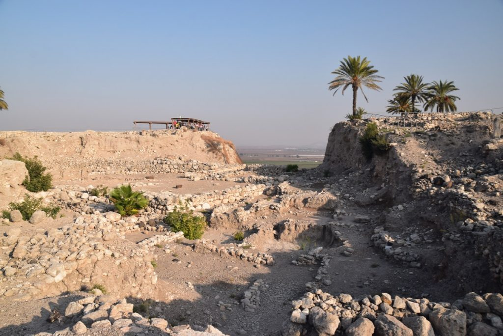 Megiddo Nov 2019 Israel Tour Group, with John DeLancey