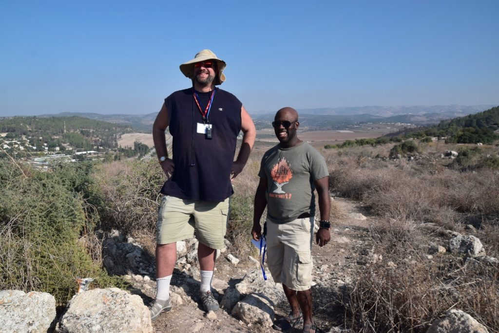 Socoh David v Goliath Nov 2019 Israel Tour with John DeLancey
