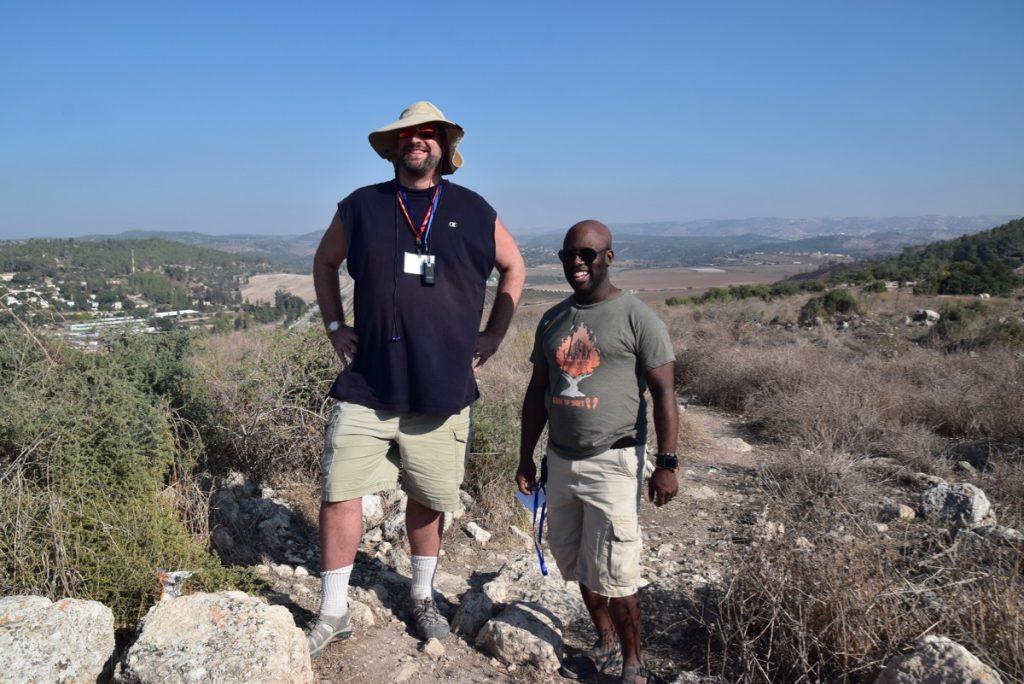 Socoh David v Goliath Nov 2019 Israel Tour with John DeLancey