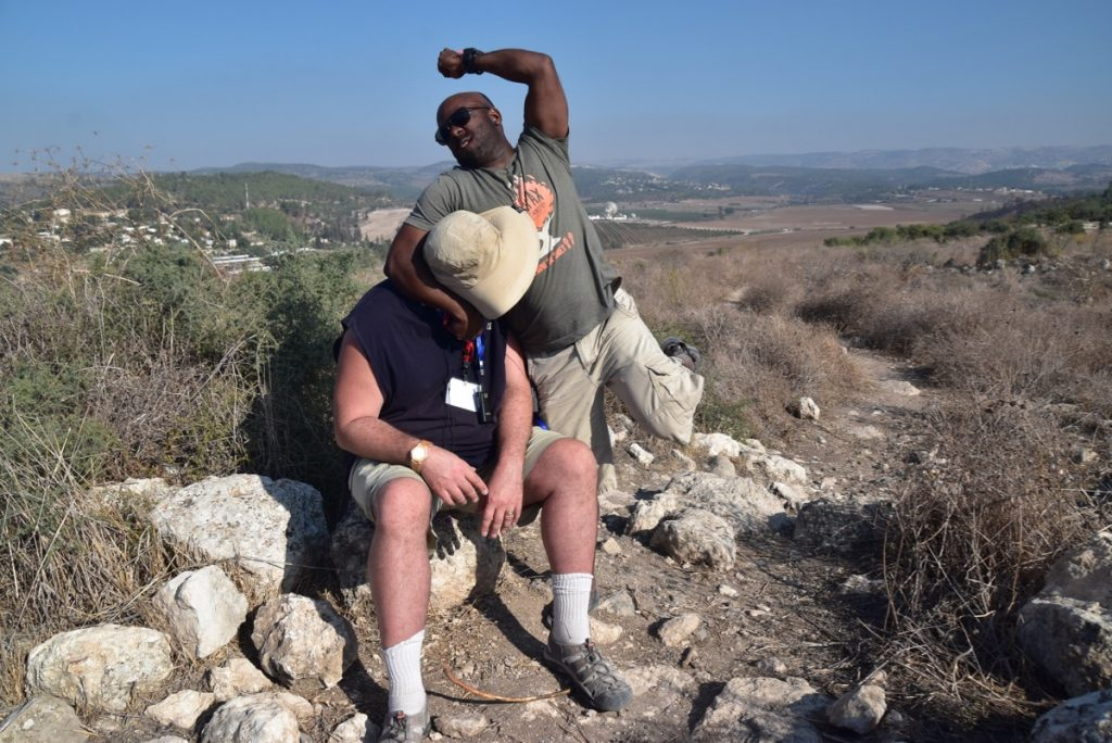 Socoh Elah Valley Nov 2019 Israel Tour with John DeLancey