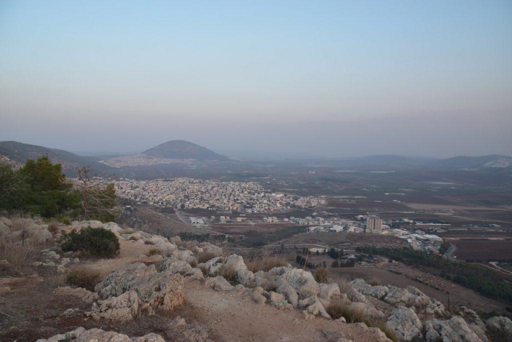 Mt Tabor Nov 2019 Israel Tour Group, with John DeLancey