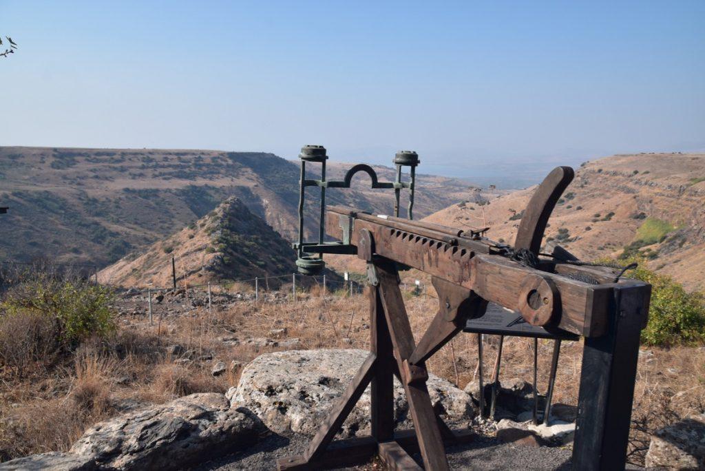 Gamla Biblical Israel Tour Nov 2019 with John DeLancey