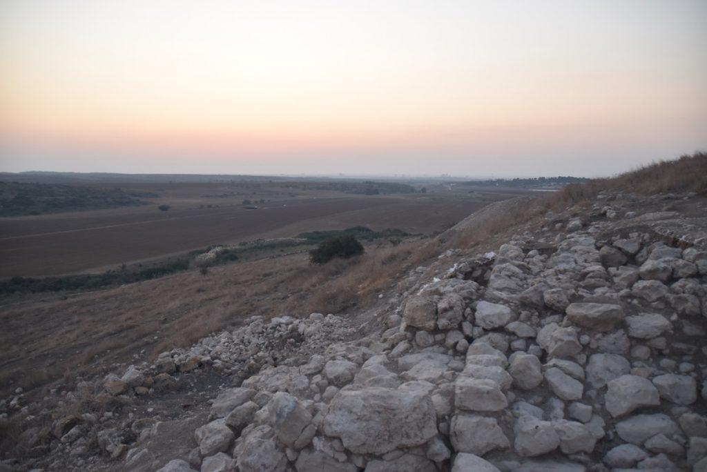 Tel Burna Libnah Nov 2019 Israel Tour with John DeLancey