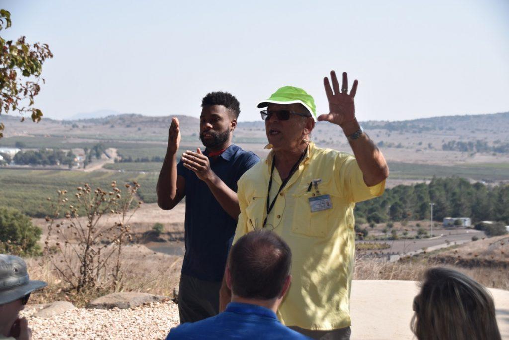 Syrian Border Biblical Israel Tour Nov 2019 with John DeLancey