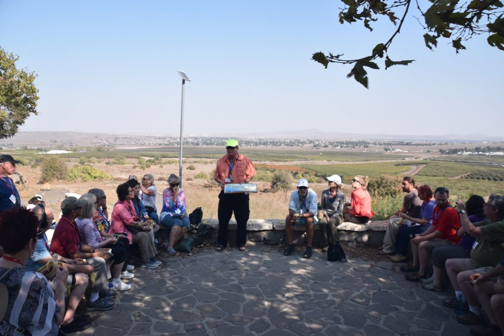 Syrian Border Biblical Israel Tour Nov 2019 with John DeLancey