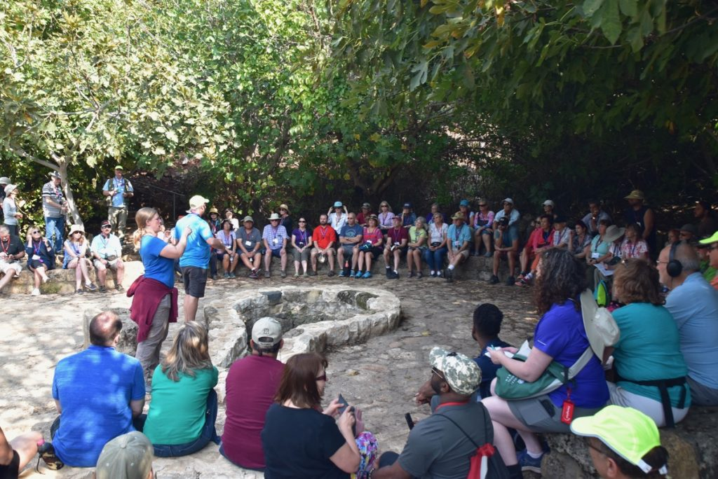 Caesarea Philippi Biblical Israel Tours with John DeLancey