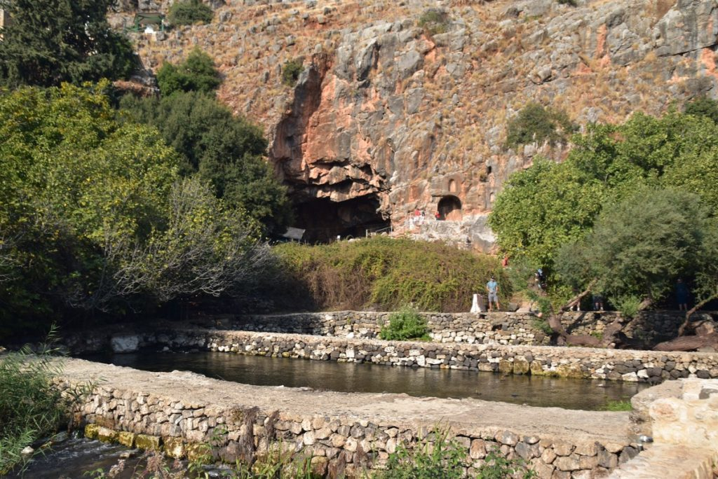 Caesarea Philippi Biblical Israel Tour Nov 2019 with John DeLancey