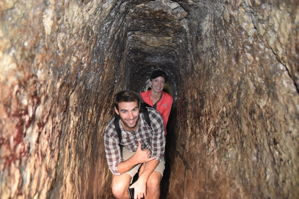 Hezekiah's Tunnel Nov 2019 Israel Tour with John Delancey BIMT