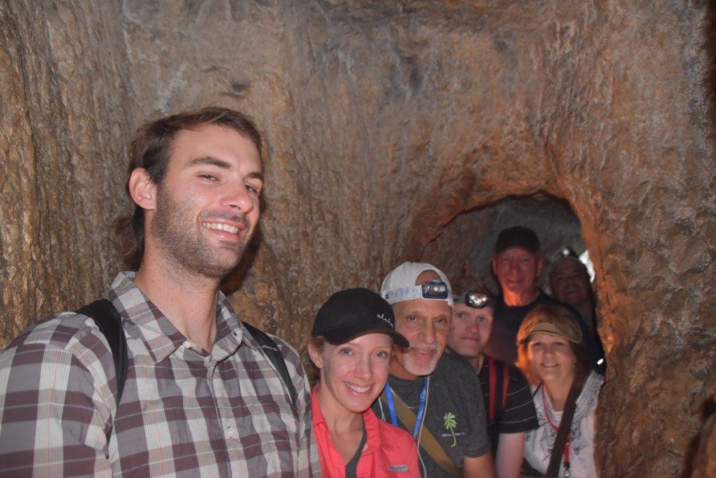 Hezekiah's Tunnel Nov 2019 Israel Tour with John Delancey BIMT