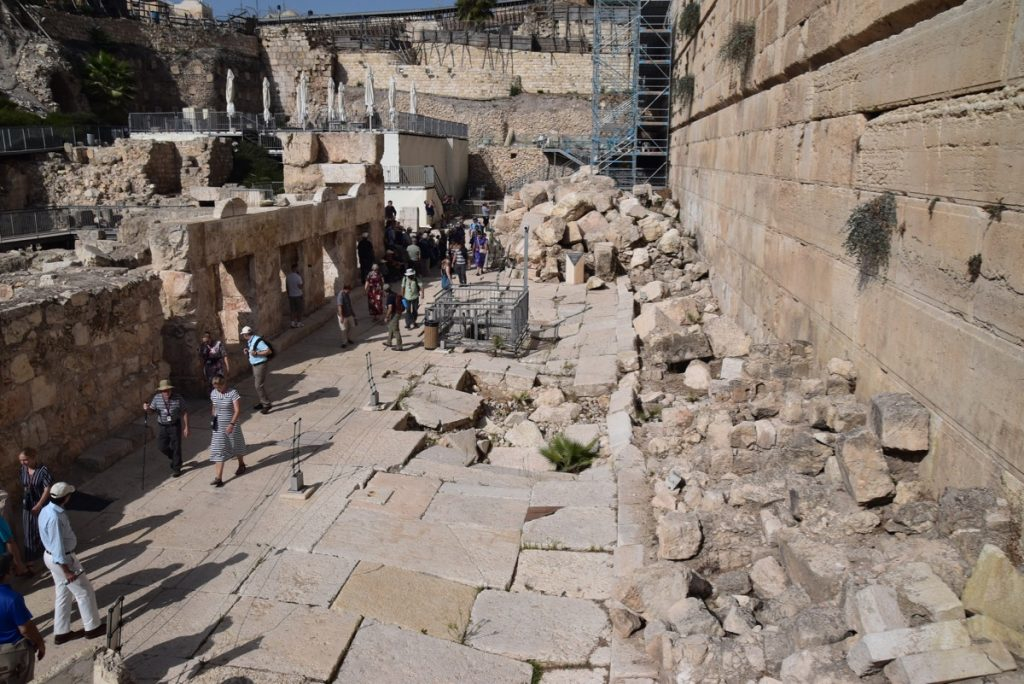 Jerusalem south wall Nov 2019 Israel Tour with John Delancey BIMT