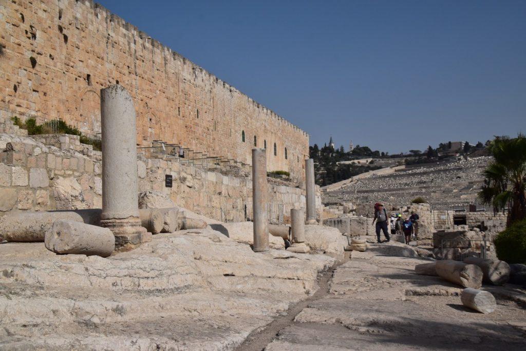 Jerusalem south wall Nov 2019 Israel Tour with John Delancey BIMT