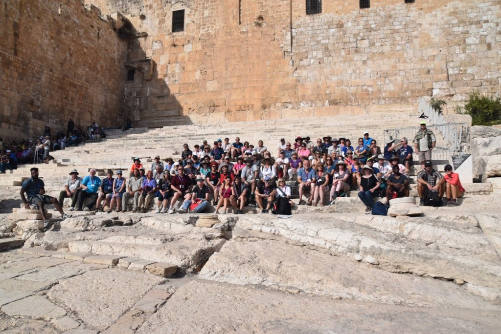Temple Steps with John DeLancey Nov 2019 Israel Tour