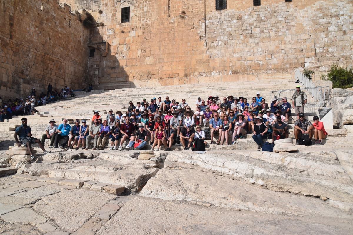 Temple Steps - Jerusalem