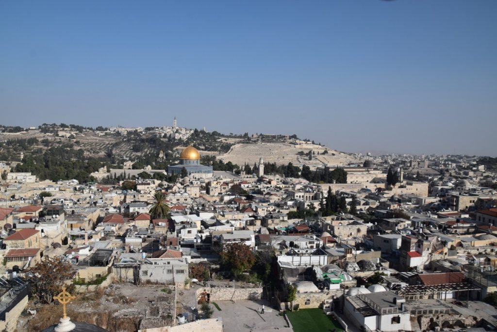 Jerusalem Old City Nov 2019 Israel Tour with John Delancey BIMT