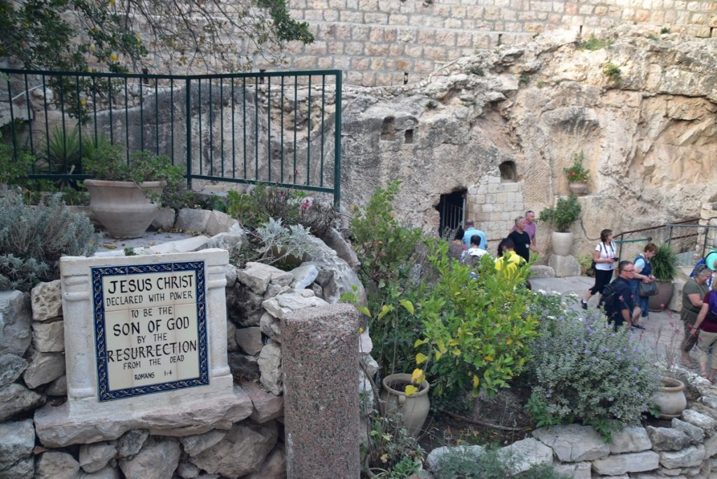 Garden Tomb Nov 2019 Israel Tour with John Delancey BIMT