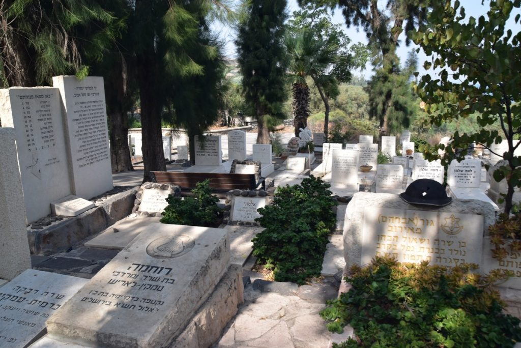 Kinneret Cemetery November 2019 Biblical Israel Tour with John DeLancey
