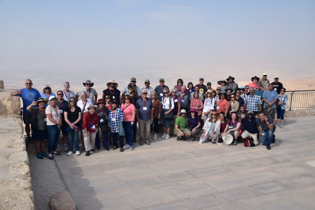 Mt Nebo Jordan with John DeLancey Nov 2019 Israel Tour
