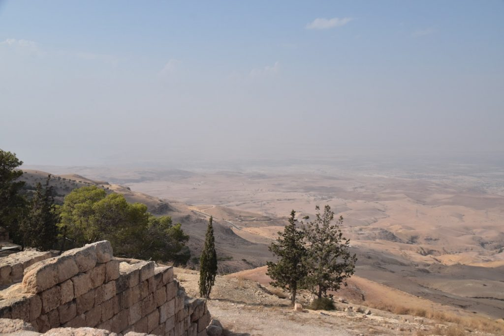 Mt. Nebo Nov 2019 Israel Tour Group with John DeLancey