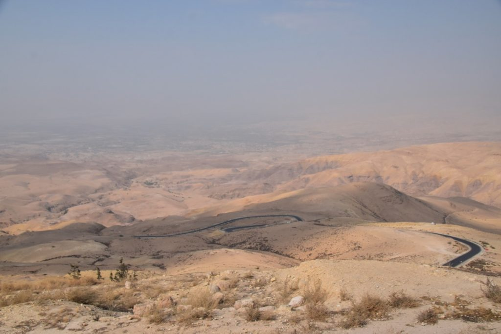 Mt. Nebo Nov 2019 Israel Tour Group with John DeLancey