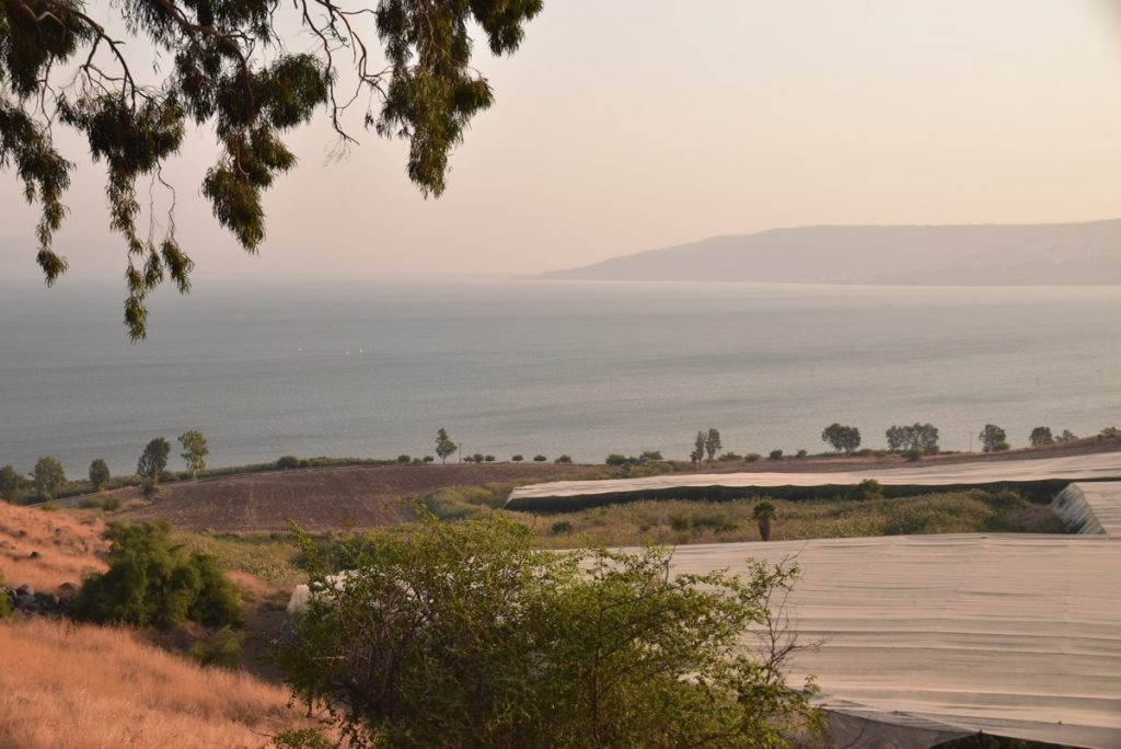 Mt. of Beatitudes November 2019 Biblical Israel Tour with John DeLancey