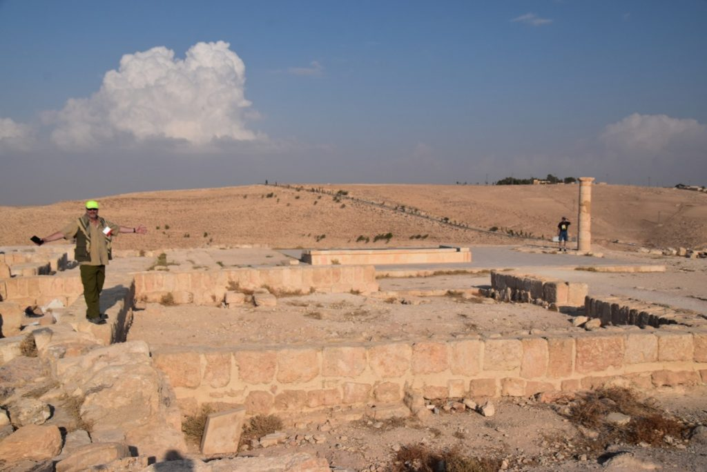 Machaerus Nov 2019 Israel Tour Group with John DeLancey