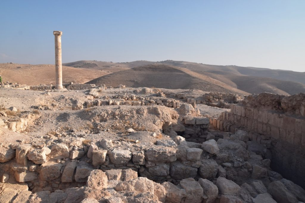Machaerus Nov 2019 Israel Tour Group with John DeLancey