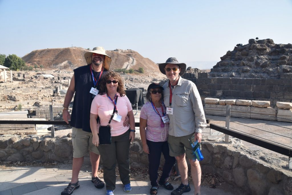November 2019 Biblical Israel Tours group with John DeLancey